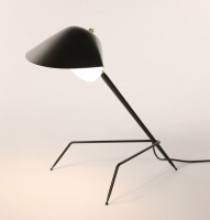 Serge Mouille Tischlampe Tripode